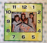 Настенные часы с Вашими фотографиями