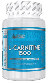 ActiWay L-Carnitine 1500 30 tabs