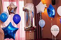 Композиция из гелиевых шаров - 1 год