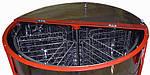 Медогонка автоматическая 6-ти рамочная под рамку Дадан. Модель2 (ременной привод), фото 3