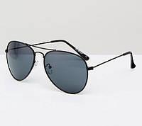 Сонцезахисні окуляри AJ Morgan - 53409 Black (солнцезащитные очки авиаторы)