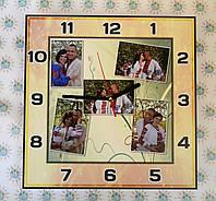 Часы Настенные с вашими фотографиями