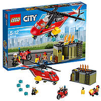 Лего Lego City Пожарная команда быстрого реагирования 60108