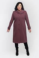 Пальто женское кашемировое Л-558 длинное