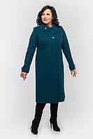 Пальто женское кашемировое Л-558-зеленое