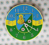 Годинник настінний з гербом Веселинове