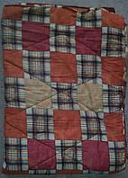 Одеяло ватное полуторное, теплое одеяло