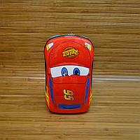 Рюкзак детский с панцирем Тачки Cars Blue 32х22х12 см