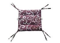 Подушка на стул, сидушка подушка на табурет, 40х40х3
