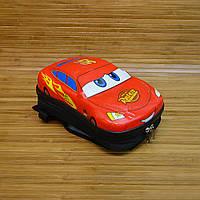 Рюкзак детский с панцирем Тачки Cars Black32х22х12 см