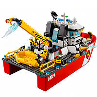 Лего Lego City Пожарный катер 60109
