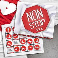 Шоколадный набор Non stop 100 г (сладкие подарки)
