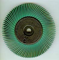 3M™ 27605 Scotch-Brite™ Bristle BB-ZB - Радиальная щетка, ø150Х12 мм, Р50, тип А, зеленый