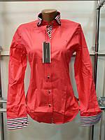 Модная женская рубашка Th 85 розового цвета L