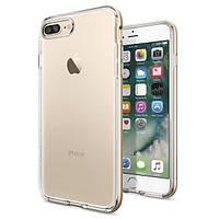 Чехол Spigen для iPhone 7 Plus Neo Hybrid Crystal, Champagne Gold, фото 1
