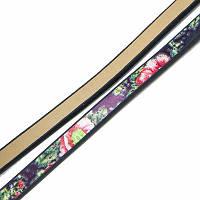 Шнур Натуральная Кожа, Цвет: Черный, Размер: Ширина 5мм, Толщина 3мм, около 0.95м/шт, (УТ100005663)
