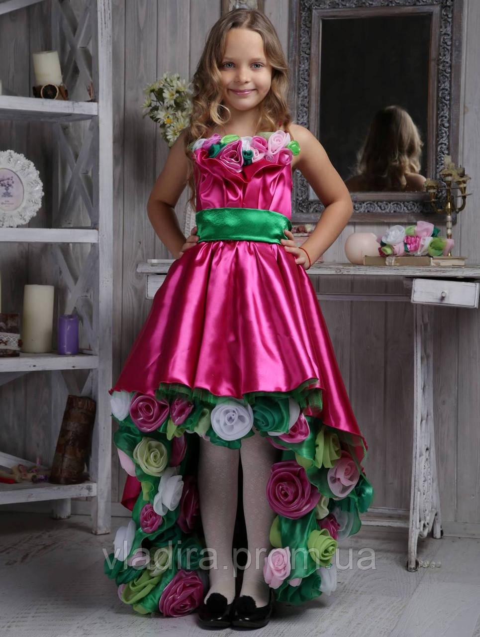 341fb912c0534a2 Праздничное платье для девочки с розами Viridiflora: продажа, цена в ...