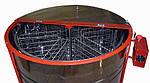 Медогонка 6-ти рамочная автоматическая под рамку Дадан. Модель 2 сенсорный блок управления, фото 4