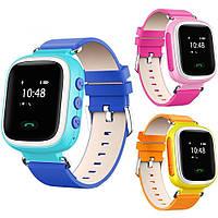 Оригинальные Умные детские часы Smart Baby Watch Q80 с GPS трекером