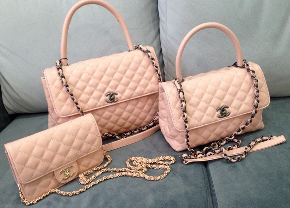 Сумка женская Coco Chanel в розовом цвете, цена 45  , купить Одеса ... b52c37653ff