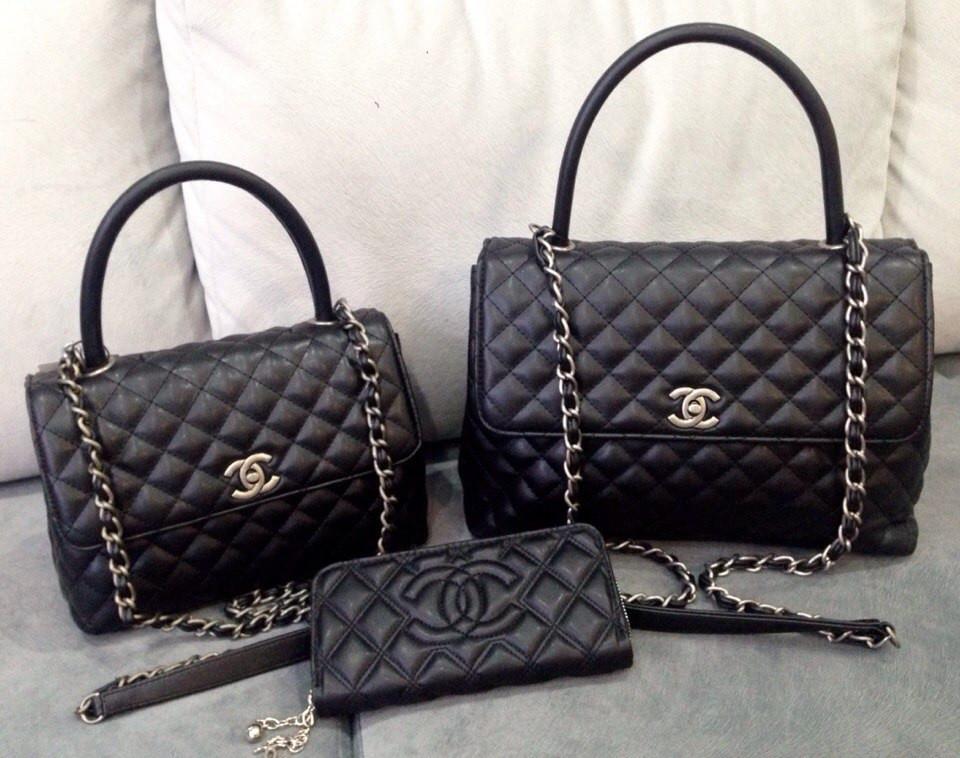adbc708b6401 Сумка женская Coco Chanel черная, цена 45 $, купить в Одессе — Prom ...