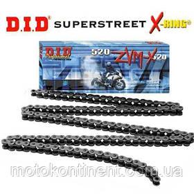 Мото цепь  530 DID 530ZVM-X 102 Стальная для мотоцикла ( в к-те замок ZJ) сальник X 2 -Ring