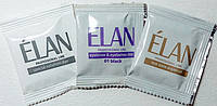 Гель-краска для окрашивания бровей (черный) в наборе ELAN