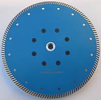 "Алмазный диск для резки гранита с фланцем,""BLUE-TURBO"" 230x2,6/2,0x8x22xM14"