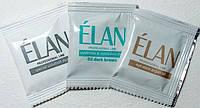 Гель-краска для окрашивания бровей (темно-коричневый) в наборе ELAN