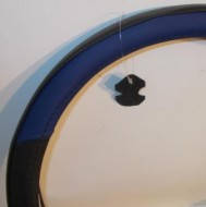 Оплетка руля кожа S черная/синяя нить King KSW-2959-2
