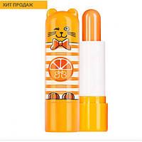 4740 Faberlic. Защитный детский бальзам для губ Кот Апельсин. Фаберлик 4740.
