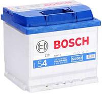 Аккумулятор Bosch 6 СТ-52-R S4 Silver 0092S40020