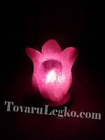 Соляная лампа Цветок (1,5 кг)