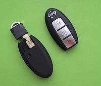 Nissan - корпус для смарт ключа, 2+1 кнопки