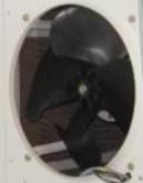 Вентилятор осевой  к охладителям воздуха Jhcool JH 157
