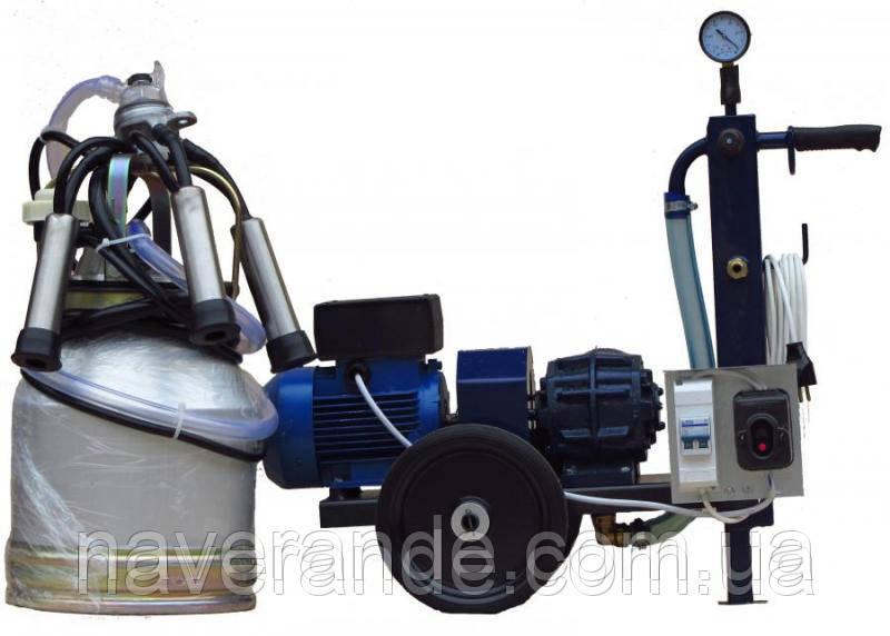 Агрегат индивидуального доения АИД-2 (сухой насос)