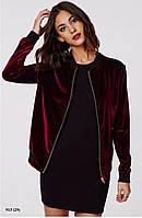 Куртка жіноча оксамит 913 (29)