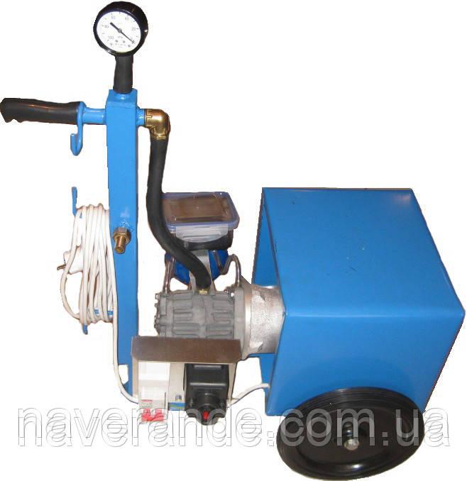 Доильный агрегат масляный АИД-1Р (без доильного аппарата)