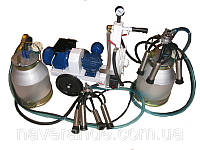 Доильный аппарат сухого типа АИД-2 (с двумя доильными ведрами)