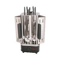 ЭлектрошашлычницаSATURNST-FP8560C (5 шампуров, таймер, 1000 Вт)