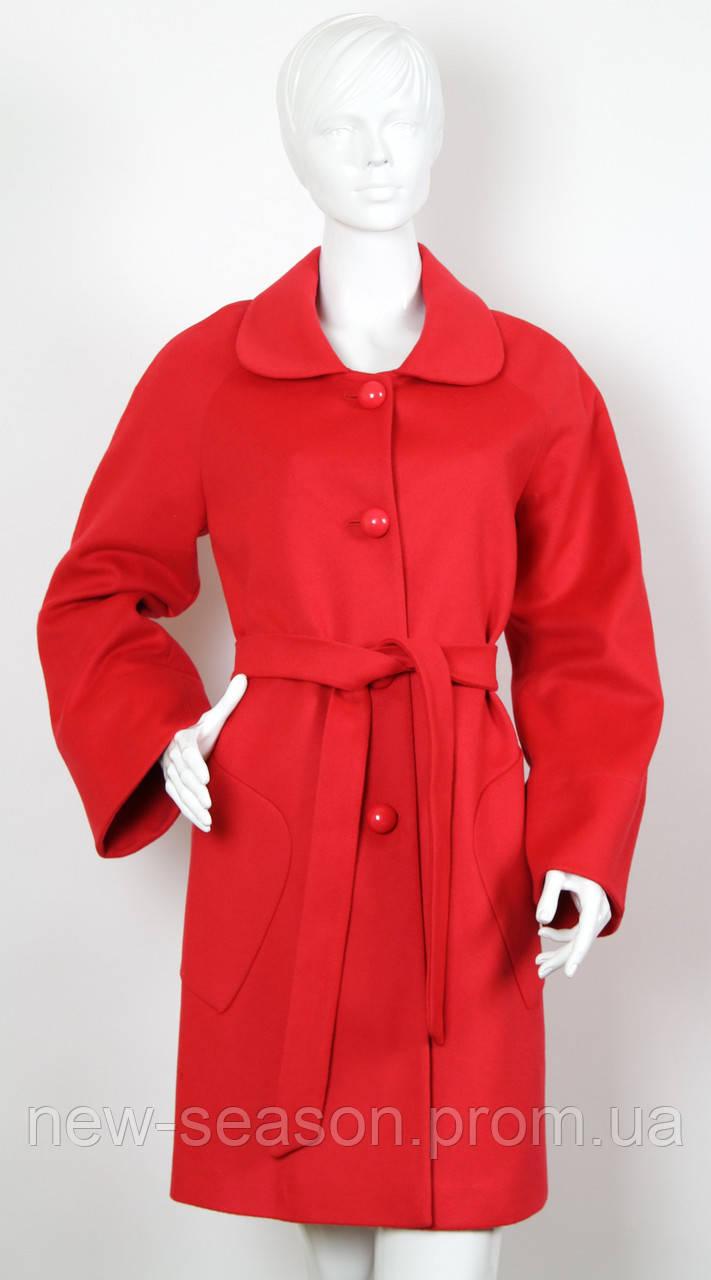 Пальто кашемировое EVELINE 6710 red