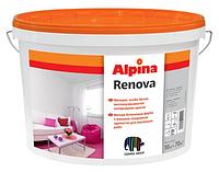 Краска для стен и потолка Alpina RENOVA 5 л