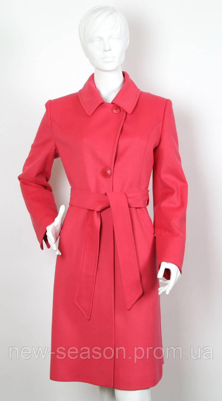 Пальто кашемировое EVELINE 6713 коралл