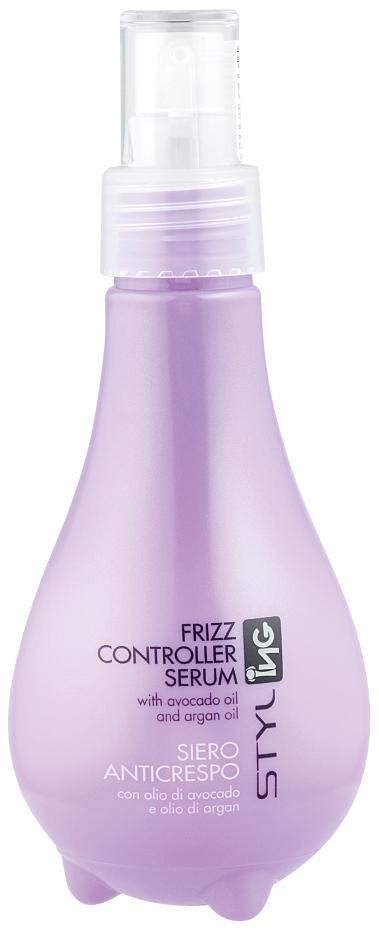Сыворотка для непослушных и вьющихся волос ING Professional Frizz Controller Serum 150 мл.