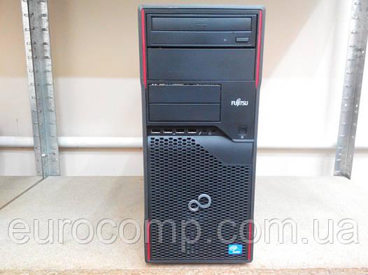 Производительный компьютер для дома и офиса на Celeron G Fujitsu P700 E85+ (Мини тауэр)