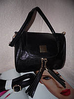 Женская черная сумка Crossbody (Кроссбоди)