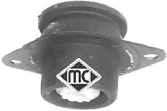 Подушка двигуна / КПП 2001-> 1.9 dCi L (ліва кругла) — Metalcaucho (Іспанія) - MC04451