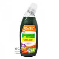 Гель для туалета очищающий органический Sodasan 0,75л