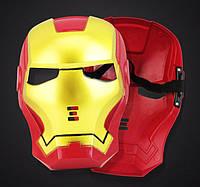 Карнавальная Пластиковая Маска из Кинофильма Железный Человек Iron Man Прикол