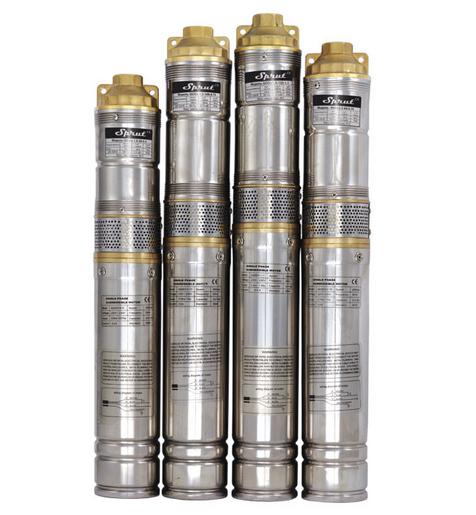 SPRUT QGDа 1,2-100-0.75kW + пульт